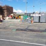 Steel Plates W/ Curb Plates on job site