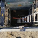 (2) Hydraulic Aluminum Boxes stacked 10' deep